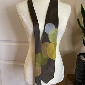 Ted Baker 100% Silk Circle Mod Style Tie